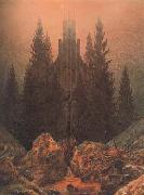 Caspar David Friedrich Cross in the Mountains (mk10) oil painting picture wholesale