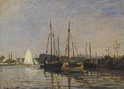 Claude Monet Pleasure Boat,Argenteuil (san31) oil painting picture wholesale