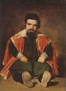 Diego Velazquez A Dwarf Sitting on the Floor (mk08) oil painting artist