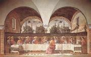 Domenico Ghirlandaio Last Supper (mk08) oil painting picture wholesale