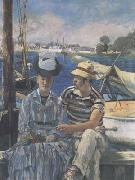 Edouard Manet Argenteuil (The Boating Party) (mk09) oil painting picture wholesale