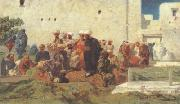 Eugene Fromentin Moorish Burial (san25) oil painting picture wholesale