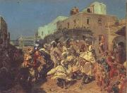 Fernand cormon Cain (san28) oil painting reproduction