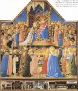 Fra Angelico The Annunciation (mk08) oil painting picture wholesale
