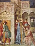 Fra Angelico St Lawrence Receiving the Church Treasures (mk08) oil painting picture wholesale