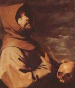 Francisco de Zurbaran The Ecstacy of St Francis (mk08) oil painting picture wholesale