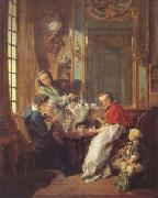 Francois Boucher The Lunch (mk05) oil painting picture wholesale