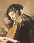 Frans Hals Two Singing Boys (mk08) oil painting picture wholesale