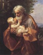 Guido Reni Joseph with the christ child in His Arms (san 05) oil painting picture wholesale