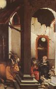 Hans Baldung Grien The Nativity (mk08) oil painting picture wholesale