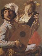 Hendrick Terbrugghen The Duo (mk08) oil painting picture wholesale