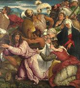 Jacopo Bassano The Procession to Calvary (mk08) oil painting picture wholesale