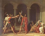 Jacques-Louis  David The Oath of the Horatii (mk05) oil painting picture wholesale