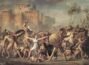 Jacques-Louis  David The Intervention of the Sabine Women (mk05) oil painting picture wholesale