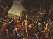 Jacques-Louis David Leonidas at thermopylae (mk02) oil painting picture wholesale