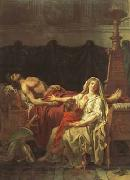 Jacques-Louis David andromache mourning hector (mk02) oil painting picture wholesale