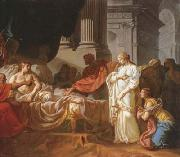Jacques-Louis David Antiochus and stratonice (mk02) oil painting picture wholesale