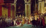 Jacques-Louis David The coronation of Napoleon and Josephine (mk02) oil painting picture wholesale