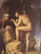 Jean Auguste Dominique Ingres Oedipus Explains the RIddle of the Sphinx (mk05) oil painting picture wholesale