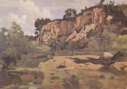 Jean Baptiste Camille  Corot Civita Castellana (mk11) oil painting picture wholesale