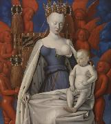 Jean Fouquet Madonna and Chile (mk08) oil painting picture wholesale