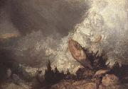 Joseph Mallord William Turner Avalanche in the Grisons (mk10) oil