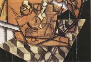 Juan Gris The Teacups (mk09) oil painting picture wholesale