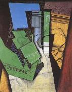 Juan Gris Dejeuner (mk09) oil painting picture wholesale
