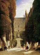 Karl Blechen The Gardens of the Villa d'Este (mk09) oil painting picture wholesale