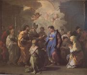 Luca  Giordano The Marriage of the Virgin (mk05) oil painting picture wholesale