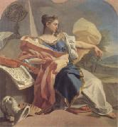 Mura, Francesco de Allegory of the Arts (mk05) oil painting artist