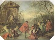Nicolas Lancret Winter (mk05) oil painting picture wholesale