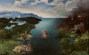PATENIER, Joachim Landscape with Charon's Bark (mk08) oil painting picture wholesale