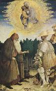 PISANELLO The Virgin and Child with the Saints George and Anthony Abbot (mk08) oil painting picture wholesale
