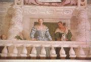 Paolo  Veronese Giustiana Barbaro and her Nurse (mk08) oil painting picture wholesale