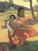 Paul Gauguin When will you Marry (Nafea faa ipoipo) (mk09) oil painting picture wholesale