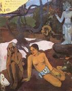 Paul Gauguin Where are we going (mk07) oil painting picture wholesale