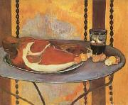 Paul Gauguin Still life with ham (mk07) oil painting picture wholesale