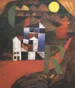 Paul Klee Villa (mk09) oil painting picture wholesale