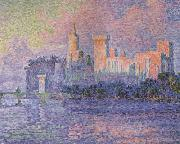 Paul Signac The Papal Palace,Avignon (mk06) oil painting picture wholesale