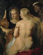 Peter Paul Rubens Venus at a Mirror (mk08) oil painting picture wholesale