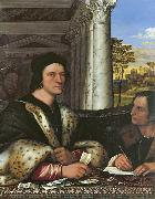 Sebastiano del Piombo Cardinal Carondelet and his Secretary (mk08) oil painting picture wholesale