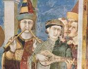 Simone Martini St Martin is dubbed a Knight (mk08) oil painting picture wholesale