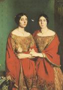 Theodore Chasseriau The Two Sisters (mk05) oil painting picture wholesale
