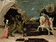 UCCELLO, Paolo St George and the Dragon (mk08) oil painting picture wholesale