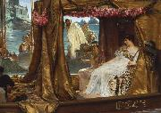 Alma-Tadema, Sir Lawrence The Meeting of Antony and Cleopatra (mk23) oil painting picture wholesale