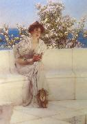 Alma-Tadema, Sir Lawrence The Year ' s at the Spring (mk24) oil painting picture wholesale
