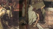 Alma-Tadema, Sir Lawrence A Roman Emperor AD 41 (mk23) oil painting picture wholesale