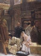 Alma-Tadema, Sir Lawrence The Picture Gallery (mk23) oil painting picture wholesale