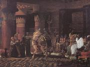 Alma-Tadema, Sir Lawrence Pastimes in Ancient Egypt 3000 Years Ago (mk23) oil painting picture wholesale